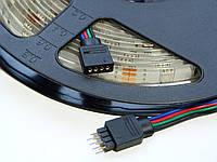 Светодиодная лента RGB SMD 5050 30 диодов на метр IP65 герметичная (в силиконе)