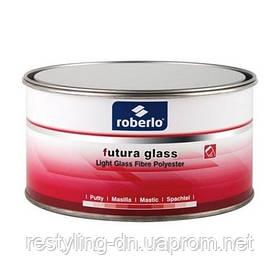 Шпатлевка со стекловолокном ROBERLO Futura Glass (0,75л) легкая