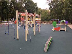 Травмобезопасное покрытие для детской площадки 10