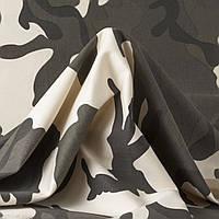 Ткань джинсовая плотная камуфляжная стрейчевая