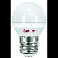 Лампочка энергосберегающая 7Вт, цоколь Е27 Saturn ST-LL27.7.GL-WW