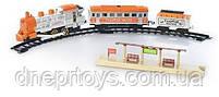"""Детская игрушка Железная дорога """"Голубой вагон"""" музыкальная с дымом - 8041 (617), фото 2"""