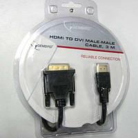 Кабель  Gembird HDMI-DVI (18+1)   3,0m