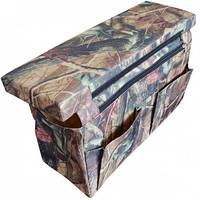 Мягкое сиденье с сумкой-рундуком для лодки ПВХ, 60 см