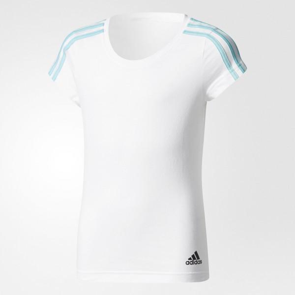 6a82fb0ae814 Детская футболка Adidas Performance Essentials 3 - Stripes (Артикул   CF1730) - Адидас официальный
