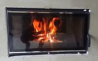 Процес горіння камінної топки Kawmet W16