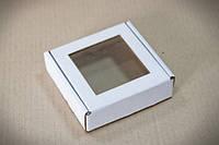 Коробка для печенья, конфет и изделий Hand Made, 100х100х30 мм, белая, фото 1