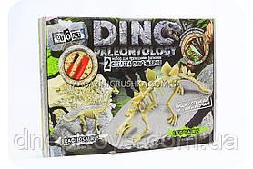 Набір юного археолога - Розкопки скелетів брахиозавра і стегозавра