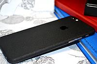 """Виниловая наклейка """"Чёрный структурный мат"""" Iphone 6 / 6S (0,2 mm)"""