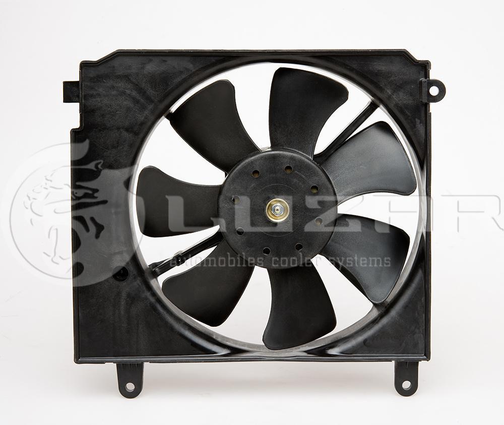 Вентилятор охлаждения радиатора Ланос (LFc 0580 ) ЛУЗАР