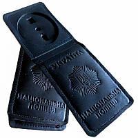 Обложки для удостоверений полиции с жетоном