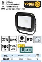 Прожектор SMD LED 230 В 20 Вт 1600 lm VOREL-82842