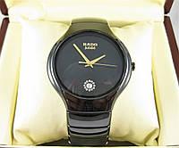 Часы RADO Jubile ELITE CERAMIC 42mm GOLD (кварц). Replica: ААА.