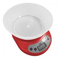 Весы кухонные Defiant DKS-502B Красные