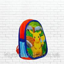 Детский рюкзак,Пикачу,покемон