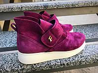 Ботинки Felli на низком ходу замшевые