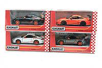Машинка Kinsmart Porshe 911 KT5352W - 4 цвета