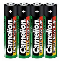 Батарейки Camelion Super Heavy Duty Green AАA, 4 шт