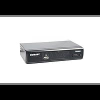 Приставка DVB-T2, MPEG-4/H.264 HD, FTA, залізний корпус+дисплей, внутрішній БЖ Romsat_T2020