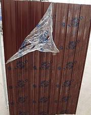 Лист гофрированный 7-ми волновой 1200х950 мм коричневый