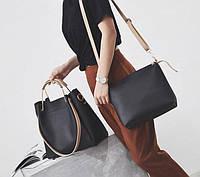 Женская сумка классическая в наборе сумка через плечо Tiffany Черный, фото 1