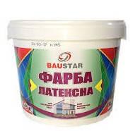 Латексная краска (водоэмульсионная) БАУСТАР/ 14,0 кг / белая