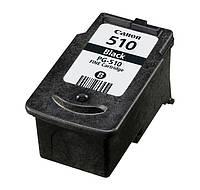 Картридж Canon PG-510Bk, Black, MP240/250/260/270/480/490, MX320/330, пустой, Virgin (PG-510Bk-EV)