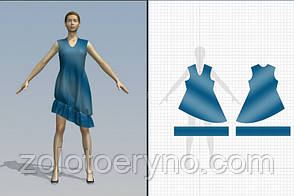 Программа 3D моделирование одежды