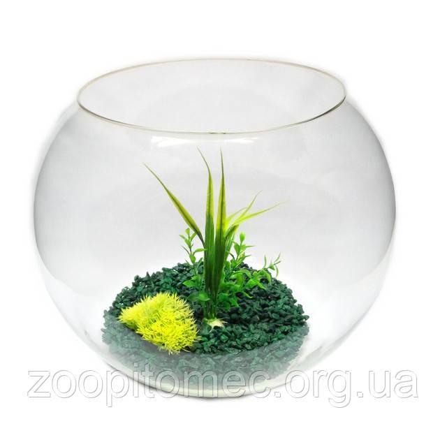 Круглые аквариумы (шары).