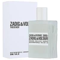 Женские парфюмы ZADIG & VOLTAIRE This is her Eau de Parfum, 50ml