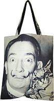 Большая сумка Оригинал с принтом Сальвадор Дали