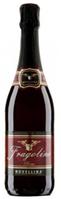 Вино игристое красное Fragolino Novellina Rosso 0.75L.
