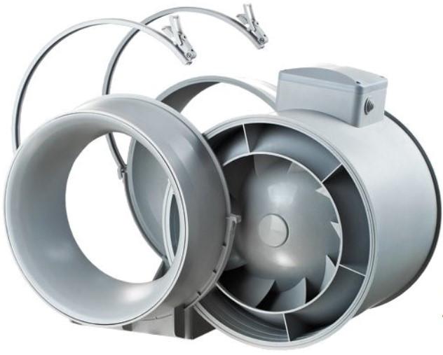 Конструкция канального вентилятора Вентс ТТ ПРО