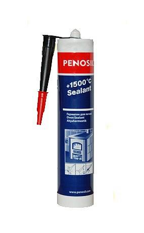 Термостойкий герметик Penosil +1500˚C для печей каминов дымоходов