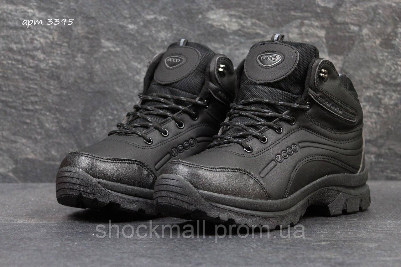 Зимние кроссовки Ecco мужские черные Вьетнам реплика 9d8833ea2751c
