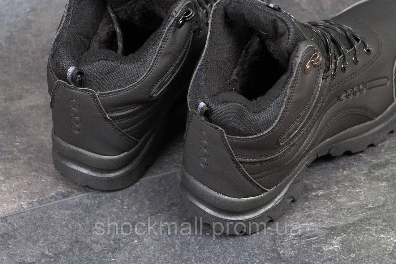Зимние кроссовки Ecco мужские черные Вьетнам реплика 2ed139ad0689a