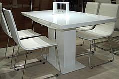 Стол обеденный AMSTERDAM белый