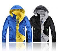 Двухсторонняя мужская куртка ветровка ADIDАS