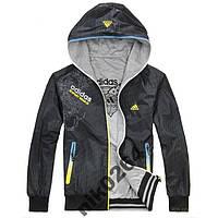 Куртка ветровка мужская двухсторонняя