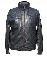 Утепленная мужская кожаная куртка BAOF (только 3XL)