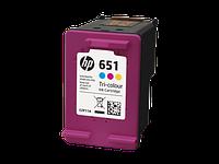 Картридж HP DJ No.651 Color Ink Advantage (C2P11AE)