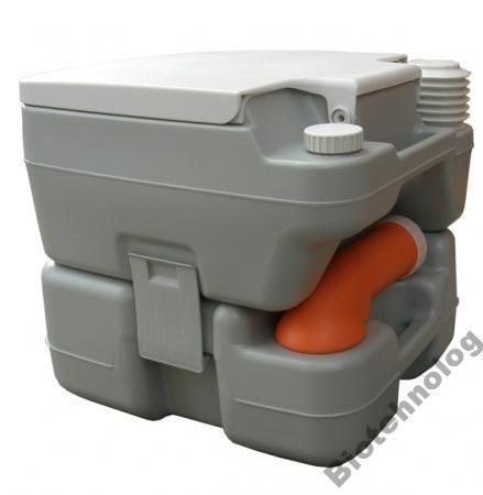 Биотуалет, туалет на кемпинг портативный, комнатный 15л с патрубком PT15A
