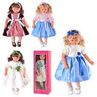"Музыкальная кукла М1529  ""Nicole"" 56см"