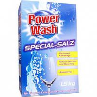 Соль для посудомоечных машин 1,5 кг Power Wash HIM-804973