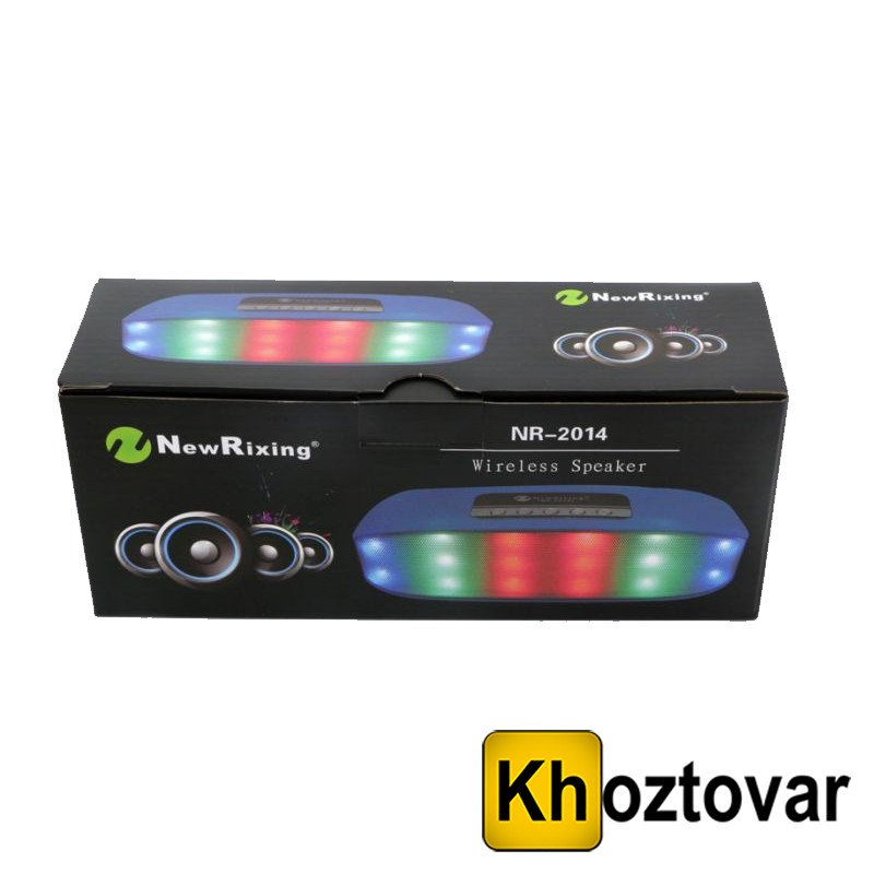 Портативная Bluetooth колонка New Rixing NR-2014