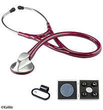 Стетоскоп Топ-Кардиолоджи, бордовый