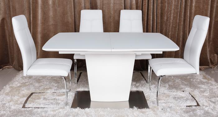 Стол обеденный CHICAGO белый, фото 2