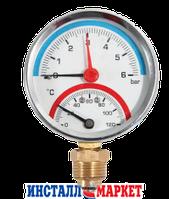 Термоманометр радиальный ASCO ф.63