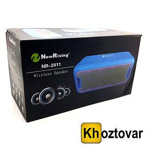 Bluetooth колонка New Rixing NR-2011