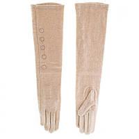 Перчатки женские шерстяные BJQ (LB70581187), бежевые